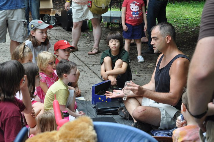 Kids Day at Marietta Market had it all: magic, music and mystical stories told.